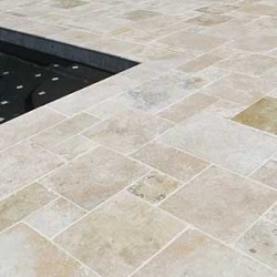 Travertine Decking